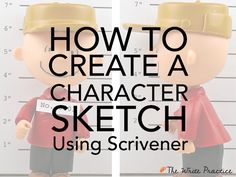 Character sketches are a tool to discover your characters' key motivations and goals, the engine that drives your story forward.