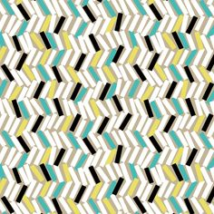 Tip (Fiesta) - Abstract Geometric Fabric - The Textile District design to custom print for home decor, upholstery, and apparel. Pick the ground fabric you need and custom print the designs you want to create the perfect fabric for your next project. https://thetextiledistrict.com #designwithcolor #fabrics #interiordesign #sewing