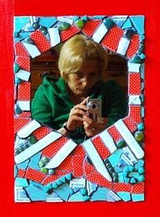 Mirror 3 by Cristina-Mary Buzamet Picnic Blanket, Outdoor Blanket, Mirror 3, Beach Mat, Mixed Media, Greeting Cards, Mary, Wall Art, Mixed Media Art