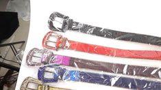 Leather Factory, Rhinestone Belt, Hangzhou, Belts For Women, Ikat, Fashion Belts, Personalized Items, Leather Accessories, Yellow