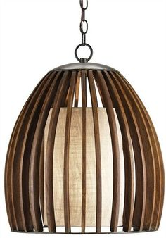 FREE SHIPPING IN THE US. USE CODE LOVE10OFF FOR 10% OFF YOUR ENTIRE PURCHASE. A contemporary twist updates this vintage-style fixture. The classic eggshell shape is enhanced with measured slats of Pol