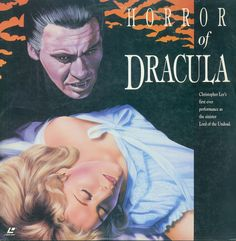 Horror Of Dracula Laserdisc cover