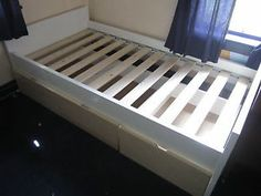 Twin Platform Storage Bed Plans | photos not available for this variation