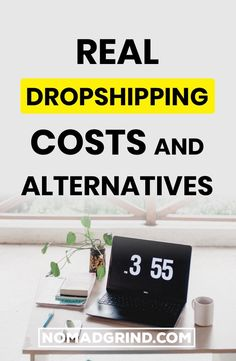 Real Costs Of Dropshipping Revealed - - Nomad Grind Marketing Budget, Digital Marketing Strategy, Online Marketing, Make Money Online, How To Make Money, Dropshipping Suppliers, Online Business Opportunities, Marketing Channel, Drop Shipping Business