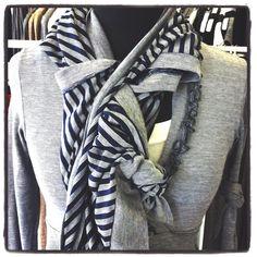 Drape Cardi use as a gorgeous scarf!