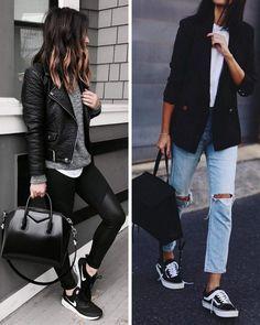 huge selection of 61e44 195a9 Ideas de cómo combinar unas zapatillas negras y cuáles son mis favoritas