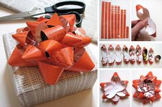 BOWS!!! Perfect if you're a gift wrap-a-holic like me :)