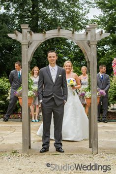 First Look with your whole bridal party  | eStudio Wedding Photography |