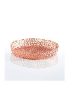 Braided Rose Gold Serving Tray: http://www.stylemepretty.com/living/2015/10/24/spotted-on-saturday-rose-gold-finds-for-the-home/