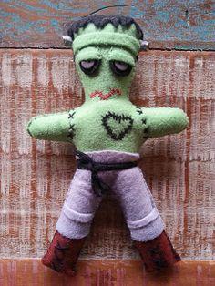 Frank - felt doll
