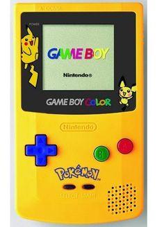 Game Boy Color special edition pikachu