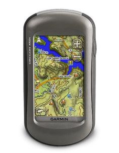 Garmin Oregon 450t Handheld GPS Navigator by Garmin. $279.99. Amazon.com                Tap the touchscreen then hit the trail with Oregon 450t. This next-generation handheld features a rugged, touchscreen along with preloaded topographic maps, 3-D map views, a high-sensitivity receiver, barometric altimeter, electronic compass, microSD card slot, picture viewer and more. Even exchange tracks, waypoints, routes and geocaches wirelessly between similar units. Touch and Go O...