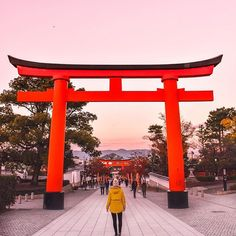 Sometimes waking up at 4am to make sure you catch the sunrise is worth it! One of my biggest tips for travel in Japan is to get up early to visit monuments and places of interest before the crowds arrive. ⠀ ______⠀ ⠀ Photo from my recent trip to Japan with @travelgirlsgetaways. You can join us on an adventure in 2018 - head to WeAreTravelGirls.com to express interest and be first to know when bookings open for our trips to Bali, Malawi, Turkey, Morocco and Sri Lanka ⠀ ______⠀ ⠀…