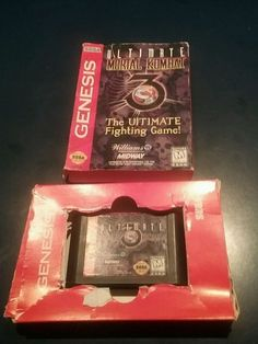 Ultimate Mortal Kombat 3 Sega Genesis 1996 031719209644 | eBay