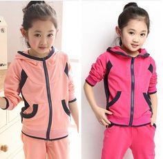 $30.15 (Buy here: https://alitems.com/g/1e8d114494ebda23ff8b16525dc3e8/?i=5&ulp=https%3A%2F%2Fwww.aliexpress.com%2Fitem%2FChildren-s-Clothing-Sets-Kids-Korean-Clothes-Sets-Child-Cartoon-Sports-Suits-Big-Girls-Tops-Pants%2F32395858821.html ) Children's Clothing Sets Kids Korean Clothes Sets Child Cartoon Sports Suits Big Girls Tops +Pants 2 Suit Kid Cotton Clothes Set for just $30.15