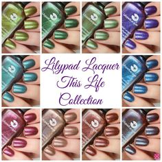 Lilypad Lacquer This Life Collection | Cosmetic Sanctuary