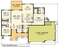 Ranch Home Plan with Lovely Porch - 89262AH | Architectural Designs - House Plans