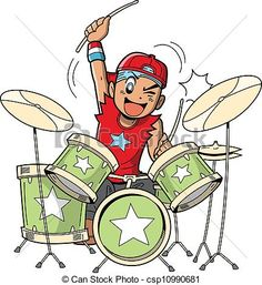 56 best rock star party images rock star party 8th anniversary Funny Birthday Invitations buy anime manga drummer by on graphicriver fun anime and manga style cartoon drummer rocks out when he s playing drums jane holstein rock star party