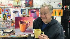 """BobBlast 113 """"Paint a Cup -  Starting with Lights and Darks."""""""