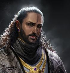 Men of Color In Fantasy Art — 影戰士 by Tina Yeh Fantasy Character Design, Character Creation, Character Design Inspiration, Character Concept, Character Art, Character Aesthetic, Arabic Characters, Dnd Characters, Fantasy Characters