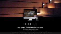 FIFTH - Business - Portfolio - Ecommerce - Multi-Purpose WP Theme