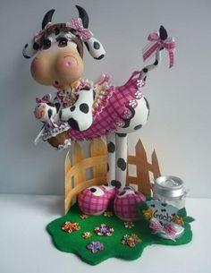 Vaca Flor- Foamy