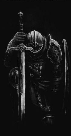 Fantasy Concept Art, Dark Fantasy Art, Fantasy Artwork, Templar Knight Tattoo, Archangel Tattoo, Warrior Tattoos, Angel Warrior Tattoo, Warriors Wallpaper, Dark Souls Art