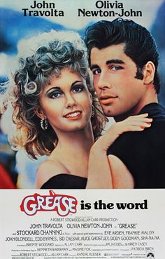 GREASE MOVIE POSTER - POP ART POSTERS