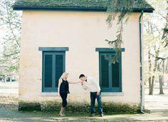 sweet Southern engagement session | Chris Cornwell #wedding