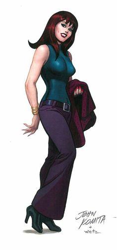 John Romita's Mary Jane Watson