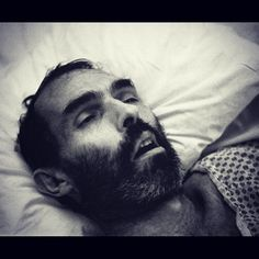 #PeterHujar by #DavidWojnarowicz.  This image was taken by David of his lover Peter moments after his death from AIDS-related complications. Wojnarowicz's way of dealing with his personal loss and grief. An incredibly powerful image and a stark reminder of the huge losses claimed by AIDS that will continue until we have won the battle to #EndAids. HM. #WorldAidsDay #WAD2016 #AwarenessIsEverything