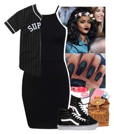 """Lil Uzi Vert ~ Ronda (Winner)☺️"" by jasmine1164 ❤ liked on Polyvore featuring MAC Cosmetics and Vans"