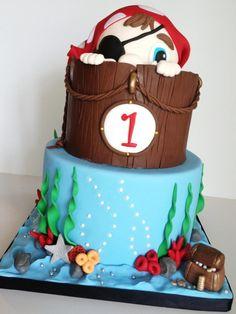 Cute pirate cake!