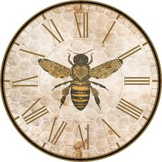 27 Ideas Vintage Drawing Inspiration Free Printables For 2019 Vintage Bee, Vintage Labels, Vintage Ephemera, Printable Vintage, Clock Face Printable, I Love Bees, Bee Art, Vintage Drawing, Bee Crafts