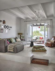 contemporary mediterranean house interior design