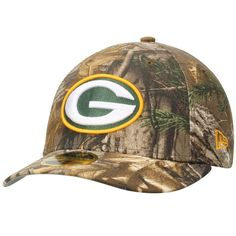 Green Bay Packers New Era Low Profile 59FIFTY Hat - Realtree Camo