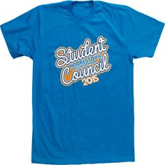 Student Council High School T Shirts Custom Tees Circle