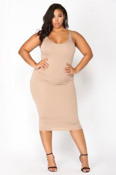 eb966efed34 Plus Size Your Needs Met Dress - Mocha  24.99  fashion  ootd  outfit