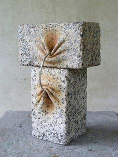 Incredible stone sculptures by Spanish artistJosé Manuel Castro López carved to look like they're soft and malleable. More images below.       José Manuel Castro López on Facebook Via Dark Silence in Suburbia