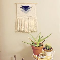 dallas / hand woven wall hanging by TheLittleAvocado on Etsy