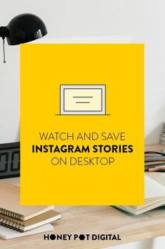 You can now watch and save Instagram Stories on the desktop site, making it really easy to save inspiration, customer shares and partner content that isn't posted directly to their profile.You can click through and watch all content, and right click to save photos or videos to your computer.