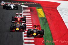 Muro di gomma: La Ferrari en el GP de Austria por Alex Sala #F1 #AustrianGP