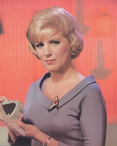 Majel Barrett Roddenberry -2008- (Played in orginal pilot as #1, Nurse Chapel on ST, Lwaxana Troi on TNG, and Computer voice on all movies and other ST spinoffs.