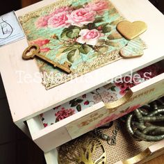 Shabby chic box by TesManualidades. Visit me in FB