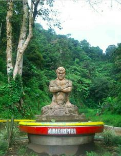 Sculpture prime ministry Gajah Mada, Gajah Mada is a Prime Ministry in the era of the kingdom of Majapahit