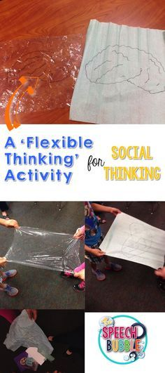 Do you work on Social Thinking? This hands on activity is a great way for students to 'see' what flexible thinking really is!