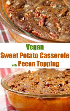 """Don't think side dish. This vegan """"casserole"""" is a dessert! Recipe includes both regular and oil-free instructions."""