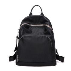 KVKY Womens Waterproof nylon backpacks Travel Bags Student School Bag Girl Backpacks Casual Travel Mountaineer Rucksack bolsas