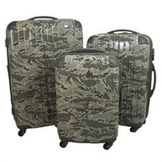 ABU Spinner 3 Piece Set from MilitaryLuggage.com.  Over 500 bags for military, law enforcement, ROTC, Fire & EMS, homeland security, and MORE