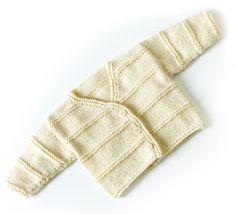 Free Knitting Pattern: Carter Ridge Baby Cardigan